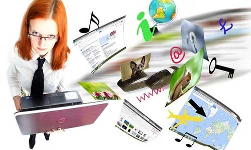 Event Planners How to Choose Web Hosting Services woman icons - Event Planners - How to Choose Web Hosting Services